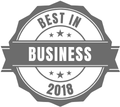 Best in Business 2018 award
